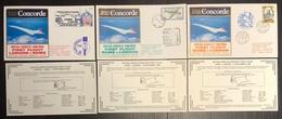 Premier Vol - Concorde - British Airways - Rome - London - 1982 - Concorde