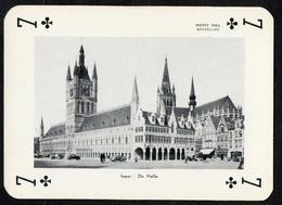 Speelkaart / Carte à Jouer / Joyaux De Belgique / Sieraden Van België / Ieper / Ypres / De Halle - Cartes à Jouer Classiques
