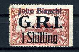 Allemagne  Cinderella John Bianchi GRI  1 Shilling Sur Imitation Timbre Colonies Allemandes - Duitsland