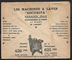 Cheque Cover France,Rouen,chèques Postaux.CCP.Postes Telegraphes Et Telephones,washing Machines,Laundry.Motor,Catalog - Publicités
