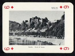 Speelkaart / Carte à Jouer / Joyaux De Belgique / Sieraden Van België / Bouillon / Burcht / Semois - Cartes à Jouer Classiques