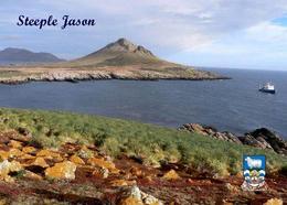 Falklands Islands Steeple Jason View New Postcard Malwinen AK - Falkland