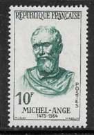 Maury 1133 - 10 F Michel Ange - * - Francia