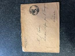 Belgium World War I WWI Letter 1918 RECREATION TENTS ARMEE BELGE To J. Cousin London  Legerposterij SM Armee Belge - Armée Belge