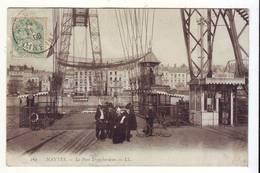 CPA  - NANTES - Le Pont Transbordeur - LL - Nantes