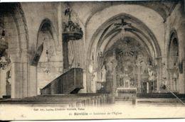 N°3537 T -cpa Réville -intérieur De L'église- - Francia