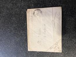 Belgium World War I WWI Letter 1916 To London UK OHMS SM Legerposterij SM Armee Belge - Armée Belge