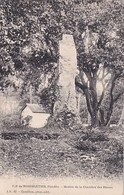 ILE DE NOIRMOUTIER       MENHIR DE LA CHAMBRE DES DAMES - Dolmen & Menhirs
