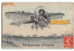 CPA 92 Un Souvenir D'Antony - Antony