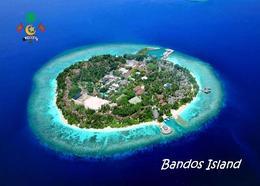 Maldives Bandos Island Aerial View New Postcard Malediven AK - Maldiven
