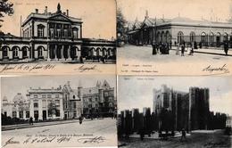 Gand Lot De 42 CPA Gare, Hôtel Du Téléphone, Poste, église, Etc - Gent