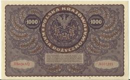 Billet 1000 Marek 1919. SPL. - Pologne