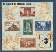 CNEP-2004-N°41**SALON DU TIMBRE 2004 .Salon Philathélique De PARIS - CNEP