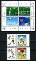 Yugoslavia (2 Series Fútbol) Nuevo - Collections, Lots & Séries