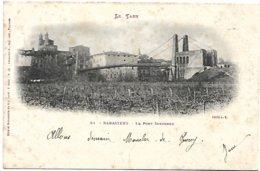 L170A_734 - Rabastens - 51 Le Pont Suspendu - Carte Précurseur - Rabastens