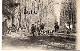 DEPT 78 : édit. Mme La Duchesse D'Uzès Douairière N° 4 : Foret De Rambouillet L'attaque A La Table - Rambouillet