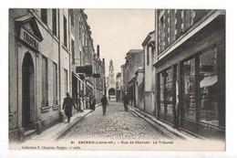ANCENIS - 44 - Loire Atlantique - Rue De Charost - Le Tribunal - Ancenis