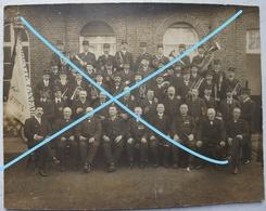 Photo BEVEREN Roeselare Ardooie Fanfare Gemeente Fanfare 1914 Jongeschool Musique Orchestre - Orte