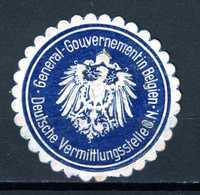 Belgique  Cinderella General Gouvernement Belgien - Erinnophilie