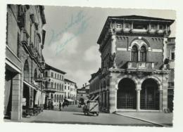 THIENE - CORSO GARIBALDI E MONUMENTO AI CADUTI   - VIAGGIATA FG - Vicenza