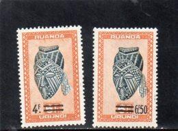 RUANDA-URUNDI 1949 ** - 1948-61: Mint/hinged