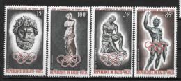 PA - 1964 - N°14 à 17**MNH - Jeux Olympiques De Tokyo - Haute-Volta (1958-1984)
