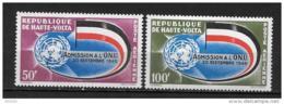 PA - 1962 - N°5 à 6**MNH - 2 Ans Admission à L'ONU - Haute-Volta (1958-1984)