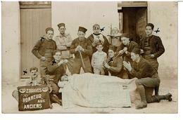 CARTE PHOTO SOUVENIR Du 8ème Régiment De Marche Des Zouaves 5 Juin 1931 En Algérie - Père Cent -  VOIR TEXTE AU VERSO - Regimientos