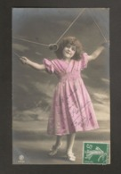 Beautiful Girl 1910s Postcard Grete Reinwald Toy - Portraits