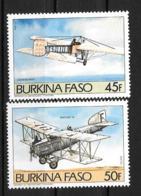 1985 - N° 647 à 648**MNH - Avions Anciens - Burkina Faso (1984-...)