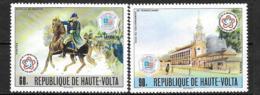 1976 - N° 393 à 394**MNH - 200 Ans Indépendance Des Etats-Unis - Haute-Volta (1958-1984)