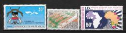 1970 - N° 231 à 233**MNH - Indépendance - Centre Technique - Indépendance - Haute-Volta (1958-1984)