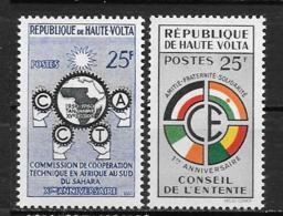 1960 - N° 90 à 91**MNH - Commission Technique - Conseil De L'entente - Haute-Volta (1958-1984)