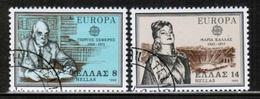CEPT 1980 GR MI 1411-12 GREECE USED - Europa-CEPT