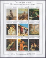 1995Sierra Leone2538-45KL125th Anniversary Art Museum In New York - Autres