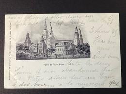 CPA Paris Exposition Universelle 1900 Timbre Type Sage Cachet Marcophilie Palais Asie Russe - Expositions