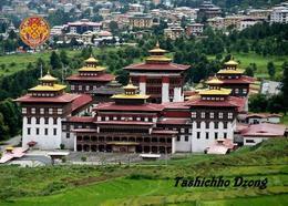 Bhutan Thimphu Tashichho Dzong New Postcard - Bhutan