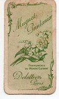 MUGUET PRINTANIER  PARFUMERIE DU MONDE ELEGANT  DELETREZ PARIS - Vintage (until 1960)