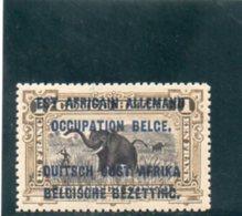 RUANDA-URUNDI 1916 ** - Ruanda-Urundi