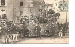 LOIRE  SAINT CHAMOND CAVALVACADE DU 30 JUIN 1907 ANIMEE ECRITE - Saint Chamond