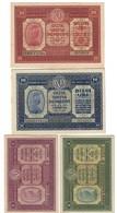 Cassa Veneta Dei Prestiti 1918 20 + 10 + 2 + 1 Lira Ottime Conservazioni Lotto.3127 - [ 2] 1946-… : Républic