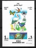 EGYPT 1998 BUTTERFLIES MNH - Papillons
