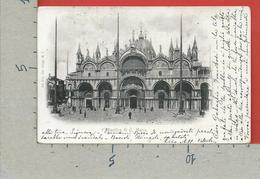 CARTOLINA VG ITALIA - VENEZIA - Basilica Di S. Marco - 9 X 14 - 1901 - Venezia