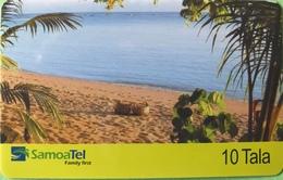 SAMOA  -  Prepaid  -  10 Tala - Samoa