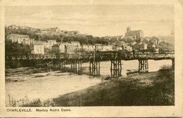 MONTCY NOTRE DAME. Carte Allemande 1917 - Francia