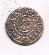 SCHILLING 1649 LIVONIA   LETLAND /1118 - Lettonie