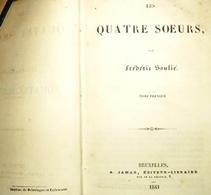 Mémoires De Frédéric Soulié 1836 à 1847 (7 Vol/ 6 Nouvelles) Mi-maroquins Meline, Cans- Delevingne & Callewaert - 1801-1900