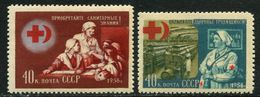 Russia 1956  Mi 1831-32  MNH ** - Unused Stamps