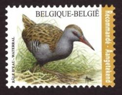 Belgique 2017 - YT N° 4641 Birds - Rallus Aquaticus - MNH - Cote €8.00 Registrered Letter Stamp - Nuovi