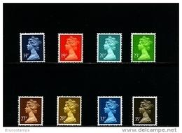 GREAT BRITAIN - 1988  MACHIN  SET  MINT NH - 1952-.... (Elisabetta II)